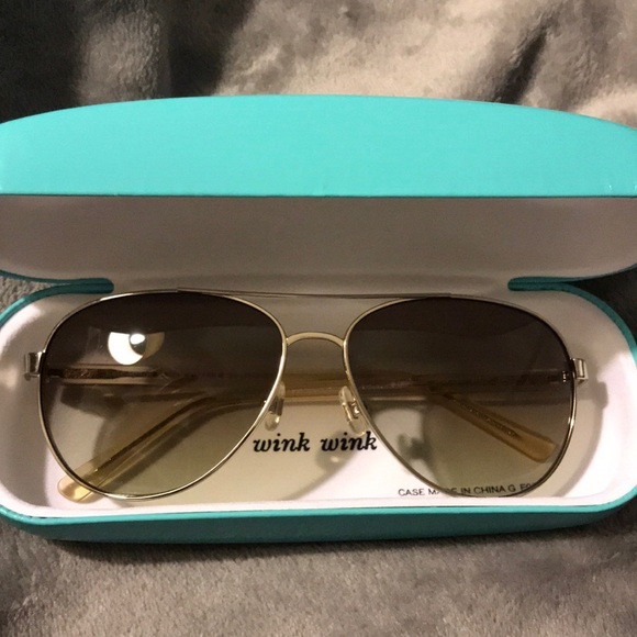 b2747868736 kate spade Accessories - Kate Spade Blossom Aviator Sunglasses